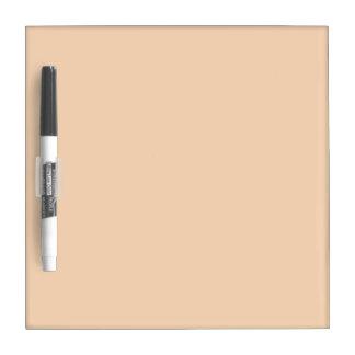 bright orange DIY custom background template Dry Erase Board