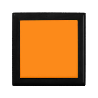 bright orange DIY custom background template Jewelry Box