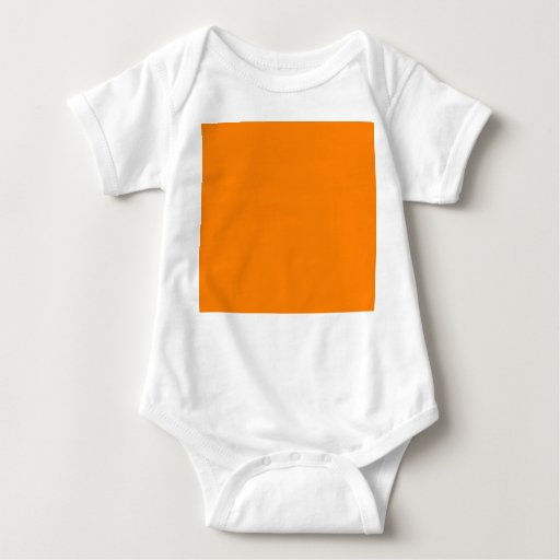 Bright Orange Diy Custom Background Template T Shirts Zazzle