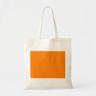 bright orange DIY custom background template Tote Bag
