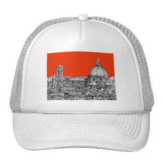 Bright orange Florence Trucker Hat