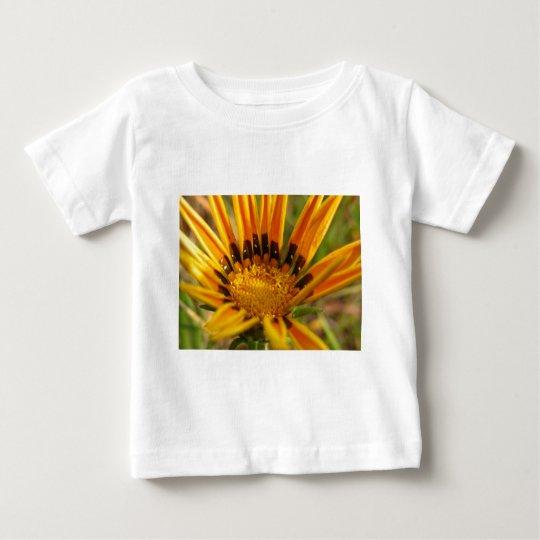 Bright Orange Flower Baby T-Shirt