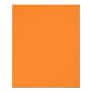 Bright Orange Flyer