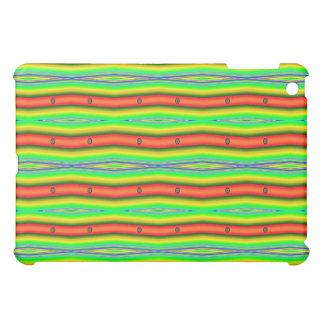 bright orange green iPad mini cover