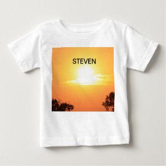 Bright Orange Sunset Infant T-Shirt