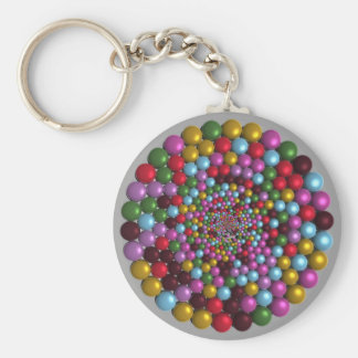 Bright Orbs Keychain