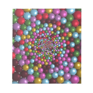 Bright Orbs Notepad