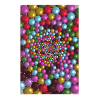 Bright Orbs Stationery
