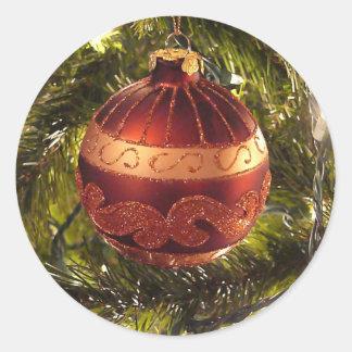 Bright ornament sticker