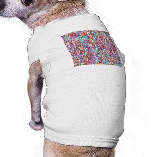 Bright Paint Splatter Abstract Shirt