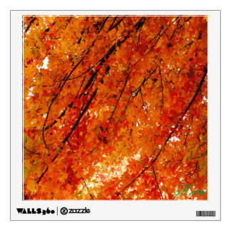 Bright Painting  - The Colors of Fall in Omaha 2 Wall Decals