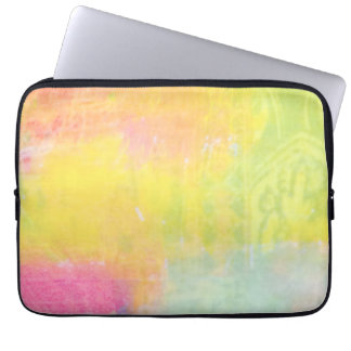 Bright Pastel Color Splash Customizable Sleeve