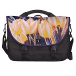 bright pastel look tulips commuter bag