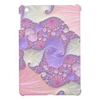 Bright Pastels Fractal iPad Mini Cover