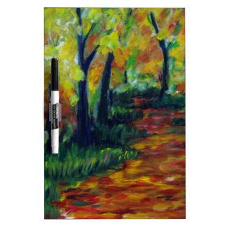 Bright Path Dry-Erase Whiteboard
