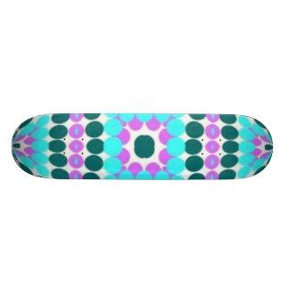 bright pattern gazing ball skate bord skateboard