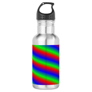 Bright Pattern Water Bottle