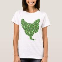 Bright patterned chicken T-Shirt