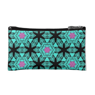 Bright Patterns Cosmetic Bag