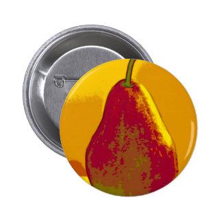 Bright Pear Button