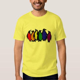 Bright Penguins Tee Shirt
