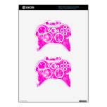 Bright Pink and White mix -SK- Xbox 360 Controller Skin