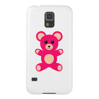 Bright Pink Baby Teddy Bear Case For Galaxy S5