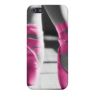 Bright Pink Ballet Shoes Cover For iPhone SE/5/5s