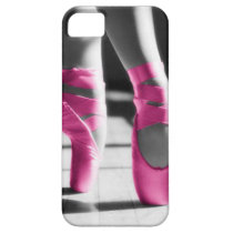 Bright Pink Ballet Shoes iPhone SE/5/5s Case