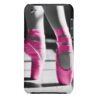 Bright Pink Ballet Shoes iPod Case-Mate Case