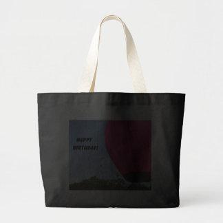 Bright pink balloon, Happy Birthday! Bag