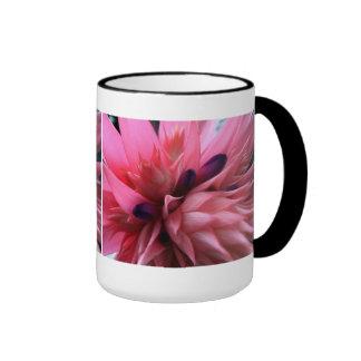 Bright Pink Bromeliad Mug