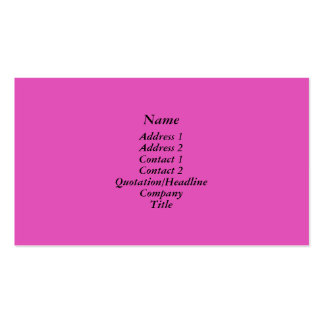 Bright pink business card templates