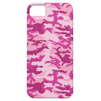 Bright Pink Camouflage iPhone SE/5/5s Case
