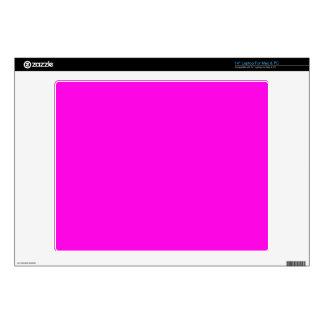 "Bright Pink Color 14"" Laptop Skin"