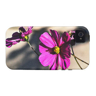 Bright Pink Cosmos - Three iPhone 4/4S Covers
