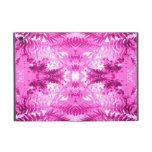 Bright Pink Fern Leaf Pattern. Covers For iPad Mini
