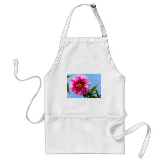 Bright Pink Flower Adult Apron
