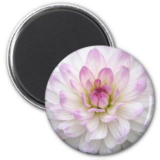 Bright Pink Flower Magnet