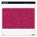 "Bright Pink Glitter Sparkle Mac Air Skin 11"" MacBook Air Skins"