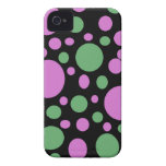bright pink green dots blackberry bold covers