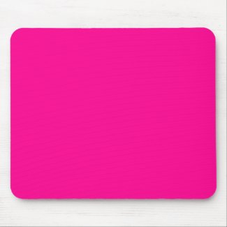 Bright Pink Mousepads
