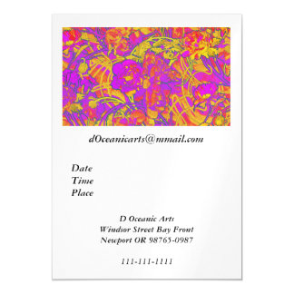 Bright Pink Peonies Magnetic Card