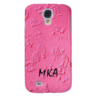 Bright Pink personalized Galaxy S4 Case