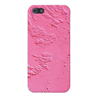 Bright Pink personalized name or initials Case For iPhone SE/5/5s