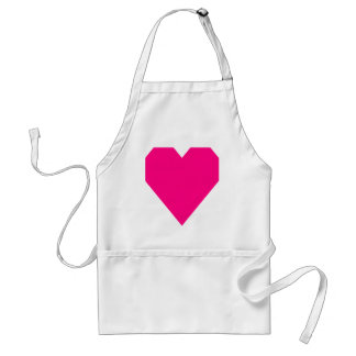 Bright Pink.png Adult Apron