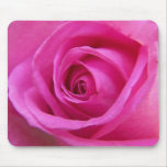 Bright Pink Rose Mousepad