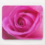 Bright Pink Rose Mousepad
