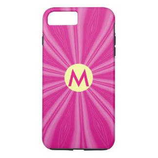 Bright Pink Sunburst iPhone 7 Plus Case