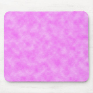 Bright Pinkish Purple Cloudy Pattern Design Mouse Pad